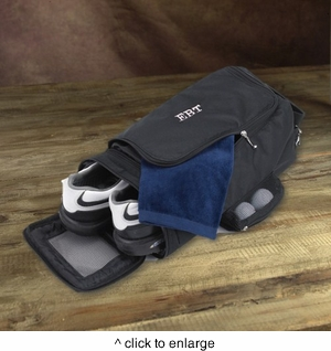 Personalized Golf Shoe Bag - click to enlarge
