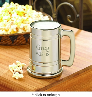 Personalized Gunmetal Mug - click to enlarge