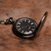 Personalized Gunmetal Pocket Watch - click to enlarge