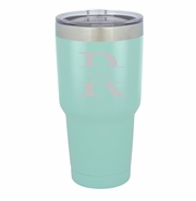 Personalized Húsavík 30 oz. Mint Double Wall Insulated Tumbler