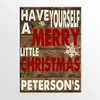 Personalized Holiday Canvas Signs - click to enlarge
