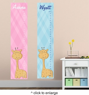 Personalized Kids Growth Charts - click to enlarge