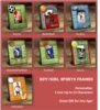 Personalized Kids Sports Frames - click to enlarge
