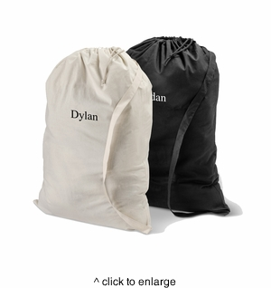 Personalized Laundry Bag - click to enlarge