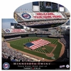 Personalized Major League Baseball Stadium Print - click to enlarge