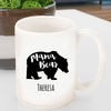 Personalized Mama Bear Coffee Mug - click to enlarge