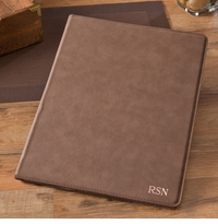 Personalized Mocha Portfolio with Notepad