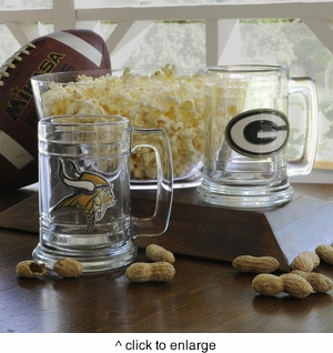 Personalized NFL Beer Mug - click to enlarge