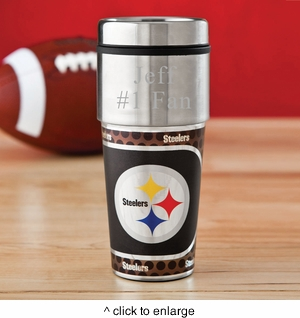 Personalized NFL Tumbler - click to enlarge