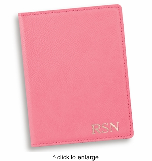 Personalized Pink Passport - click to enlarge