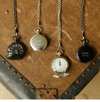 Personalized and Engraved Pocket Watches