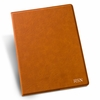 Personalized Rawhide Portfolio with Notepad - click to enlarge