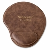 Personalized Rustic Faux Leather Mouse Pad - click to enlarge