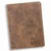 Personalized Rustic Passport Holder - click to enlarge