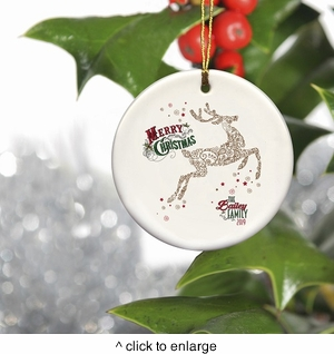 Personalized Vintage Christmas Ornaments - click to enlarge