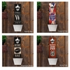 Personalized Wall Mounted Bottle Opener and Cap Catcher - click to enlarge