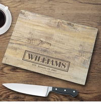 Rustic Wood Cutting Board