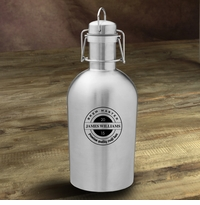Personalized Stainless Steel Growler