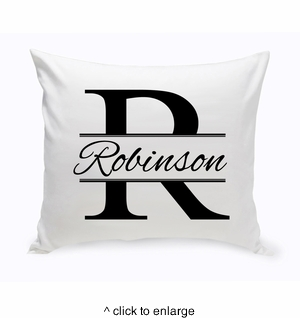 Stamped Design Throw Pillow - click to enlarge
