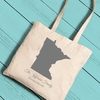 State Canvas Tote - click to enlarge