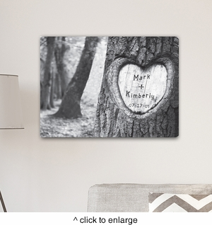 Tree of Love Canvas Print - click to enlarge