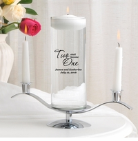 Two Shall Become One Floating Unity Candle Set (F21)
