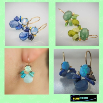 Designer Gemstones Earrings