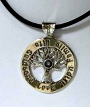Sterling silver Tree of Life necklace Family Hope Life Guidance