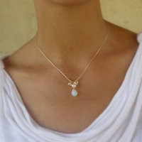 Pearls and Opalite necklace