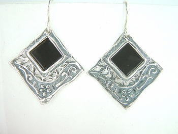 Israeli jewelry Silver earrings