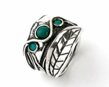 Israeli sterling silver ring gemstones