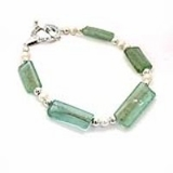 Roman glass modern design bracelet