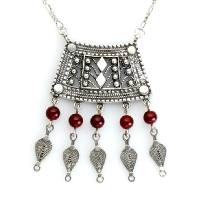 Ethnic Silver necklaces