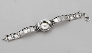 Watch for woman sterling silver watch