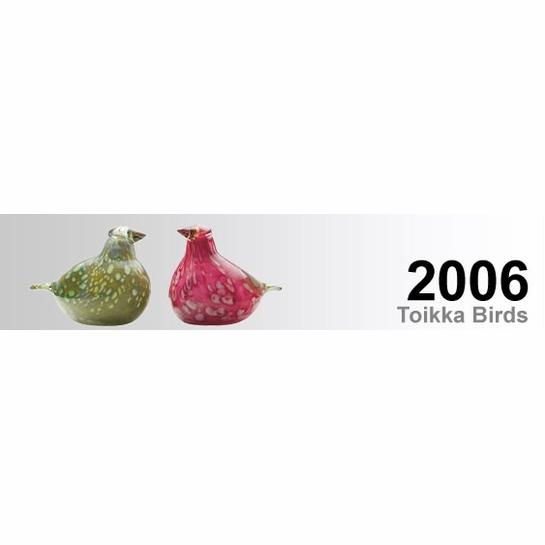 2006 Toikka Birds by iittala