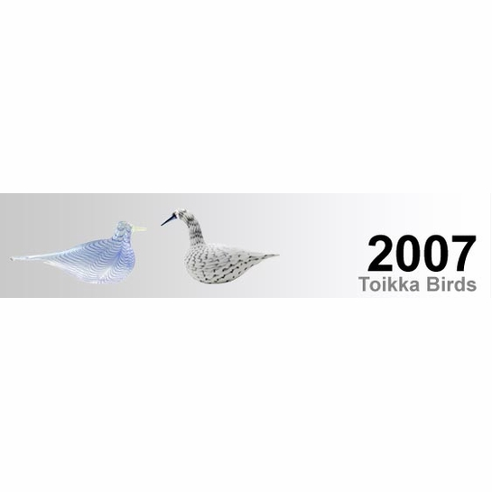 2007 Toikka Birds by iittala