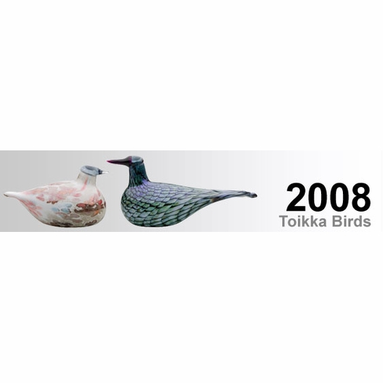 2008 Oiva Toikka Birds by iittala