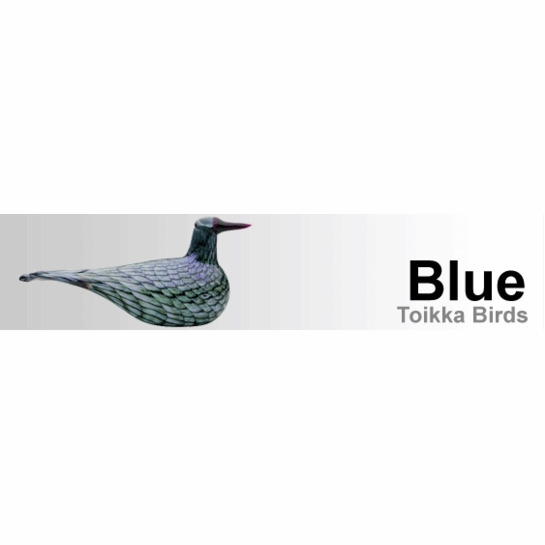 Blue Toikka Birds by iittala