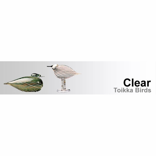 Clear / Transparent Toikka Birds by iittala