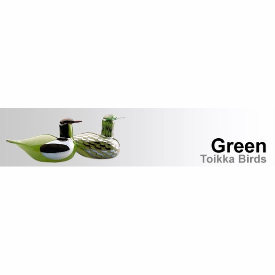 Green Toikka Birds by iittala