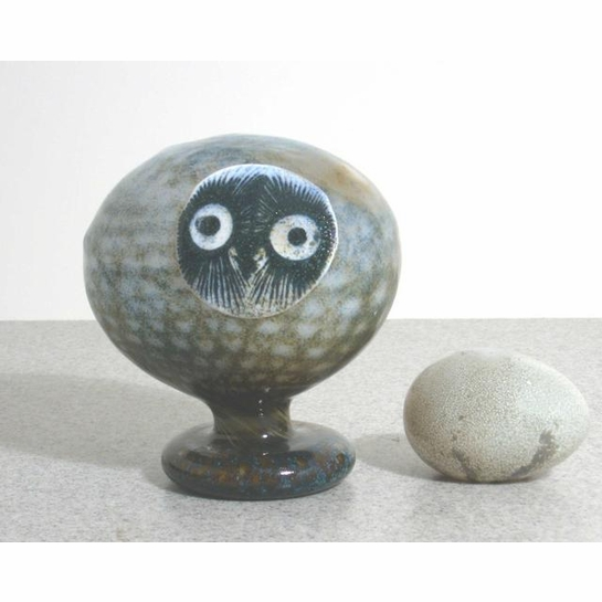 iittala Toikka Blue / Brown Pearl Owl