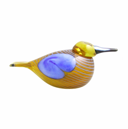 iittala Toikka Blue Scaup Duck - 2004 Annual Bird