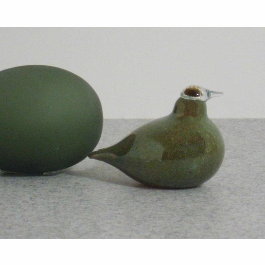 iittala Toikka Green Golden-Crested Kinglet