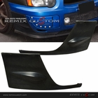 04-05 Subaru Impreza WRX PU Front Body Bumper Add-on Caps Kit