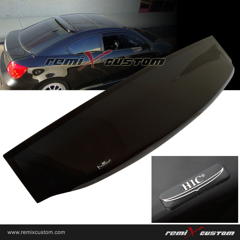 Scion Tc Hic Rear Roof Window Visor Spoiler Wing