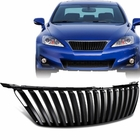 06-10 Lexus IS250 / IS350 ISF Style Front Hood Mesh Grill Black