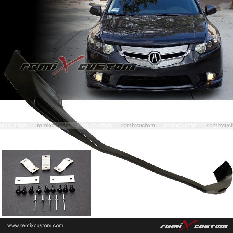 09-11 Acura TSX PU Front Bumper Lip Kit Spoiler on scion xa front lip, chrysler crossfire front lip, lincoln ls front lip, saturn ion front lip, nsx front lip, mitsubishi eclipse front lip, pontiac solstice front lip, hyundai genesis coupe front lip, pontiac grand prix front lip, toyota yaris front lip, ford fusion front lip, porsche boxster front lip, infiniti m35 front lip, toyota matrix front lip, cadillac cts front lip, nissan 240sx front lip, volkswagen cc front lip, mitsubishi lancer gts front lip, acura rsx type s front lip, mazda 5 front lip,