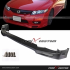 09-11 Honda Civic 4DR Sedan Mugen Style Front Body PU Bumper Lip Spoiler Kit