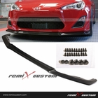 12-14 Scion FRS A-Spec Style Front Body PU Bumper Lip Spoiler Kit