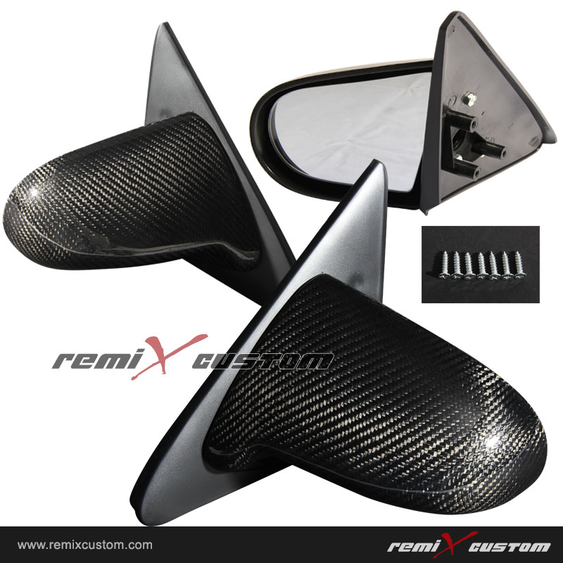 90 93 Acura Integra Spoon Carbon Fiber Side Mirrors